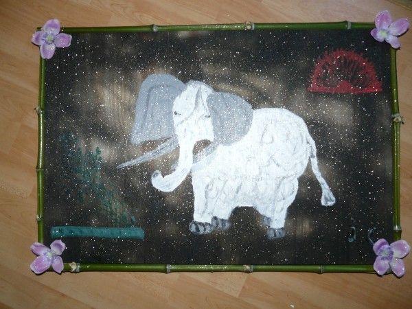 Eléphant blanc Asie